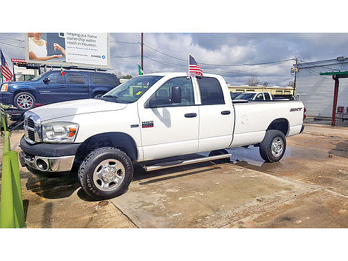 08 DODGE RAM 2500 HEAVY DUTY AUTO AC TELEC CD SPRAY IN BED LINER 281 377-6840