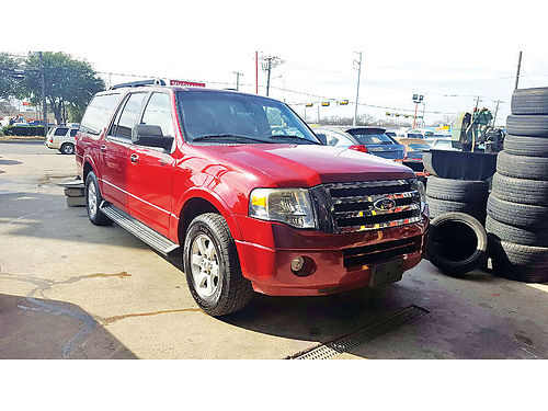 09 FORD EXPEDITION EL 3RA FILA AC DUAL ALLOYS AUTO ESTRIBOS SUPER LIMPIA 214 646-8324 10