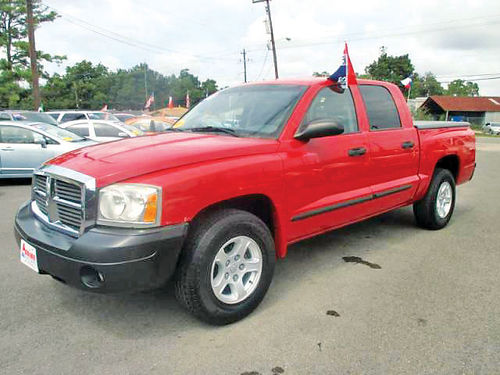 06 DODGE DAKOTA CREW CAB AC DUAL ALLOYS AUTO PROTCAJA SUPER LIMPIA V6 4 PTS 281 405-0440