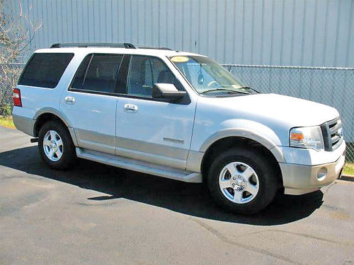 07 FORD EXPEDITION EDDIE BAUER 3RA FILA AC DUAL ALLOYS AUTO PIEL QUEMAC SUPER LIMPIA V8 28