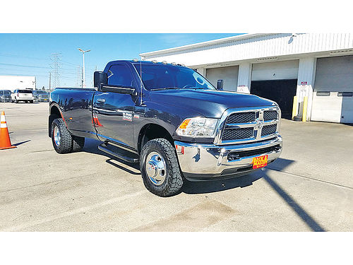 14 DODGE RAM 3500 HEAVY DUTY AC DUAL ALLOYS AUTO G252779C 832 604-4471 25488