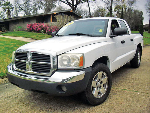 05 DODGE DAKOTA SLT AC DUAL ALLOYS AUTO PIEL 4 PTS 1137 713 643-4474 4995