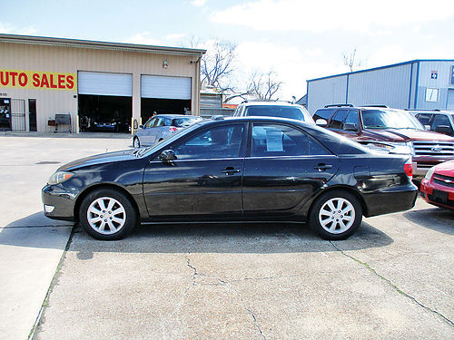 05 TOYOTA CAMRY SE AC TELEC CD 713 360-7254 1600ENG