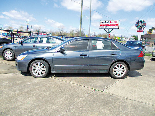 07 HONDA ACCORD AC TELEC CD 713 360-7254 1800ENG