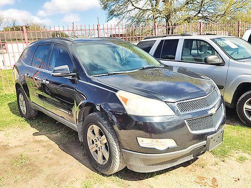 09 CHEVY TRAVERSE 3RA FILA ALLOYS PIEL 6679T 281 445-3500 4900