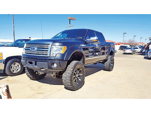 10 FORD F-150 PLATINUM 4X4 AC DUAL AUTO CUSTOM RIMS ESTRIBOS LIFTED LUXURY PACKAGE PIEL QUE