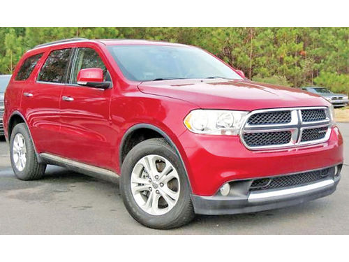 13 DODGE DURANGO 3RA FILA ALLOYS BLUETOOTH SISNAV 214 943-7777
