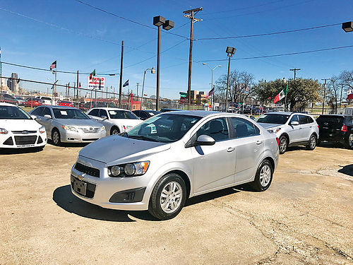 13 CHEVY SONIC LT 4 CIL ALLOYS BLUETOOTH 214 943-7777