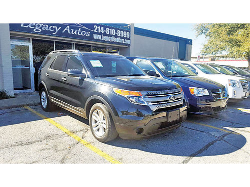 13 FORD EXPLORER XLT AC DUAL ALLOYS AUTO SUPER LIMPIA 469 909-6584 995ENG
