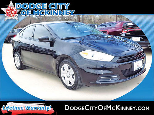 15 DODGE DART SE AC DUAL ALLOYS AUTO 4 PTS 1729323B 972 854-5037 13997