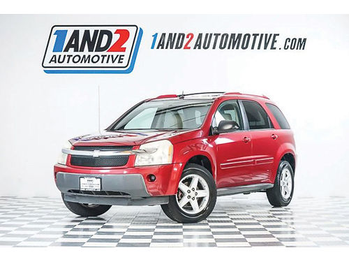 05 CHEVY EQUINOX LT AC DUAL ALLOYS AUTO SUPER LIMPIA R9037 214 771-8889 3988