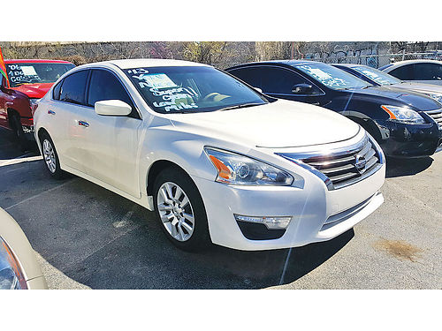 13 NISSAN ALTIMA S ALLOYS AUTO BLUETOOTH SUPER LIMPIO XM RADIO 214 442-0763