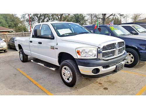08 DODGE RAM 2500 HEAVY DUTY SXT 4X4 AUTO AC TELEC CD 713 742-0700