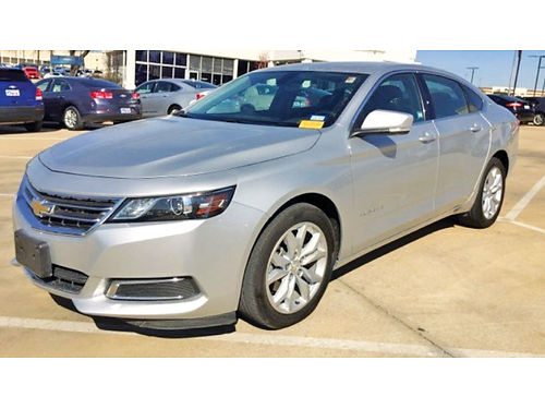 16 CHEVY IMPALA LT ALLOYS BLUETOOTH PIEL V6 REMOTE KEYLESS ENTRY UN DUENO P15355 877 597-86