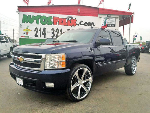 13 CHEVY SILVERADO LTZ AC DUAL ALLOYS AUTO CUSTOM RIMS ESTRIBOS PIEL 4 PTS 214 321-5252 2