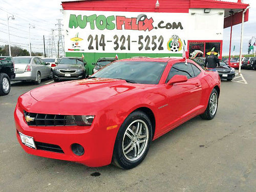 13 CHEVY CAMARO AC DUAL ALLOYS AUTO 2 PTS 214 321-5252 2000ENG