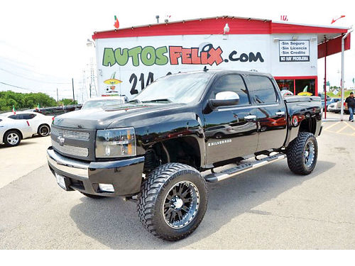 08 CHEVY SILVERADO AC DUAL ALLOYS AUTO CUSTOM RIMS ESTRIBOS PIEL 4 PTS 214 321-5252 2500