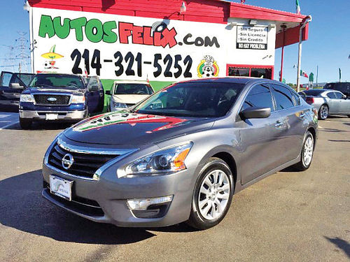 15 NISSAN ALTIMA S AC DUAL ALLOYS AUTO SUPER LIMPIO 4PTS 214 321-5252 1500ENG
