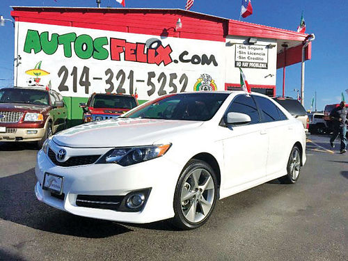 15 TOYOTA CAMRY LE AC DUAL ALLOYS AUTO 4 PTS 214 321-5252 1500ENG
