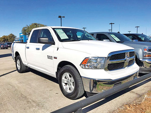 16 DODGE RAM 1500 SLT AC DUAL ALLOYS AUTO 4 PTS PS262327 214 442-0764 167PAGOS
