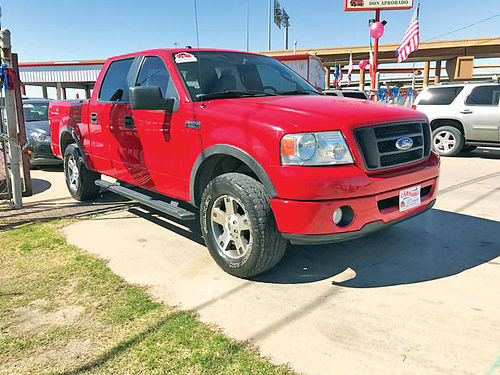07 FORD F-150 FX4 4X4 ALLOYS AUTO ESTRIBOS PIEL 4PTS 469 718-1396