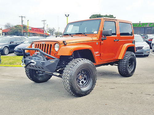 11 JEEP WRANGLER 4X4 AC DUAL ALLOYS AUTO BAJAS MILLAS LIFTED V6 2 PTS 18853A 817 717-23