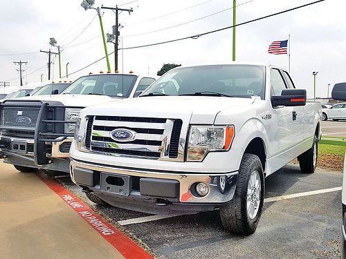 11 FORD F-150 WORK TRUCK AC DUAL ALLOYS AUTO 2 PTS CAB EXT 24656 817 717-2338 925ENG