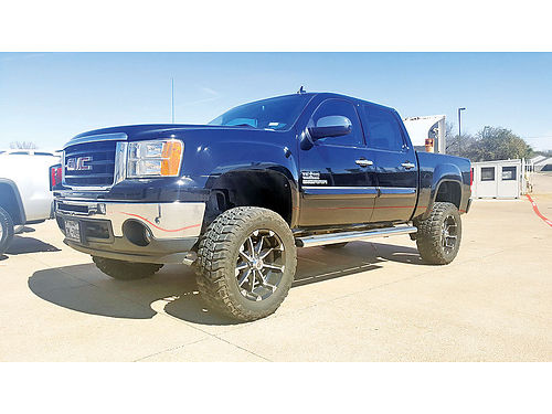 11 GMC SIERRA TEXAS ED AUTO BLUETOOTH CUSTOM RIMS LIFTED PROTCAJA SUPER LIMPIO V8 381071 8