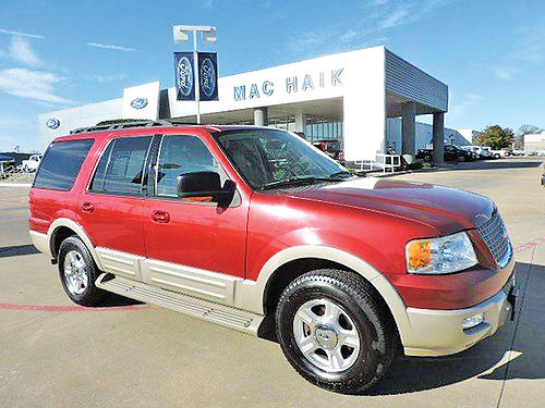 06 FORD EXPEDITION EDDIE BAUER 3RA FILA AC DUAL AUTO BLUETOOTH CUSTOM RIMS PIEL QUEMAC V8