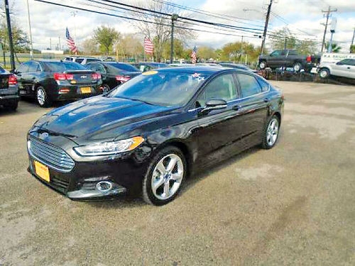 14 FORD FUSION 4 CIL AC DUAL ALLOYS AUTO SUPER LIMPIO 4 PTS 713 772-7466 1495ENG