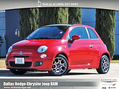 12 FIAT 500 SPORT ALLOYS AUTO BLUETOOTH CD TODO ELECTRICO CT125887 214 442-0759 5888