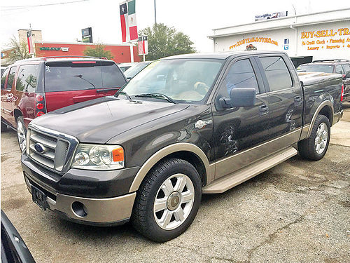 06 FORD F-150 KING RANCH AUTO ESTRIBOS PIEL V6 4 PTS 2WD AC TELEC CD 713 341-7956