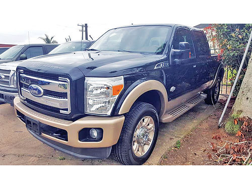 12 FORD F-250 KING RANCH ALLOYS AUTO CAMARA TRASERA PIEL 4 PTS ACTELECCDVAJUST 832 924