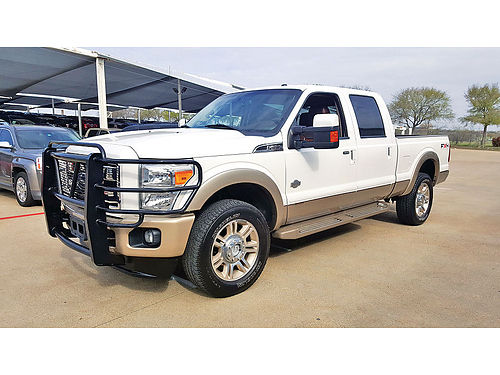 11 FORD F-250 KING RANCH 4X4 AUTO BAJAS MILLAS BLUETOOTH CAMARA TRASERA CUSTOM RIMS DIESEL ES