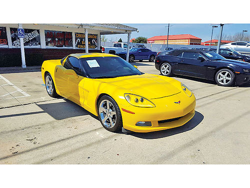 07 CHEVY CORVETTE AC DUAL ALLOYS MANUAL PIEL SUPER LIMPIO 817 717-2562 995ENG