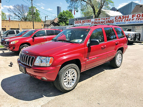 04 JEEP GRAND CHEROKEE LIMITED 4X4 713 341-9628 1999ENG