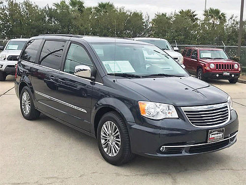 14 CHRYSLER TOWN  COUNTRY LIMITED AUTO PIEL QUEMAC AC TELEC CD ALL POWER 281 500-9407 1