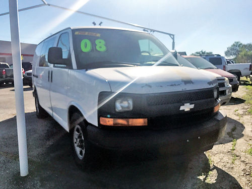 08 CHEVY EXPRESS VAN ALLOYS AUTO AC MANUAL 713 574-1283