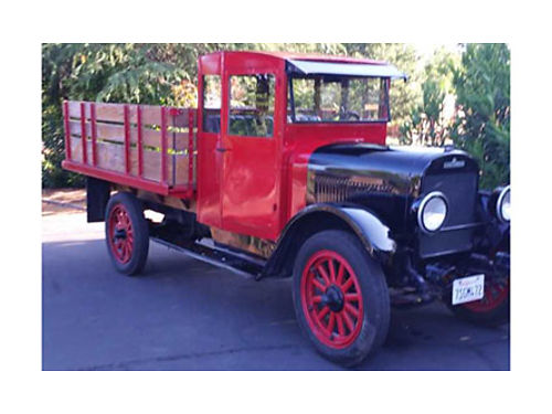 1926 REO SPEEDWAGON nice truck with overdrive was driver to Boston in the Great American Race 9