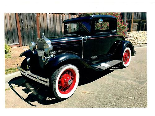 1930 MODEL A COUPE with Rumble Seat New Brassworks Radiator Water Pump Front Suspension  Brakes