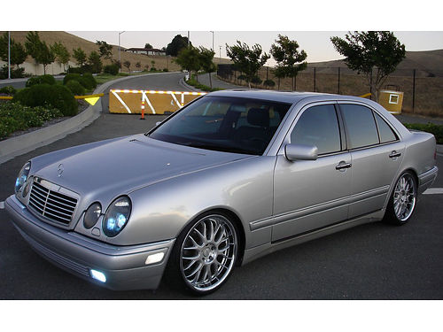 1998 MERCEDES BENZ AMG E430 Sport 4dr auto V8 ps pb cruise leather 2016 reg 118K miles s