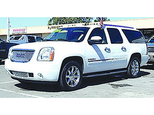 2009 GMC YUKON DENALI - Leather prem wheels low miles 3rd row Call A7810-208346 Autos Wholesa