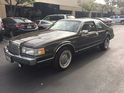 1988 LINCOLN MARK 7 65K original miles new Vogue tires immaculate condition garaged 30yrs 750