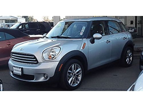 2013 MINI COOPER COUNTRYMAN CROSSOVER - Auto low miles panoramic roof 17588 A7971-M09043 Aut
