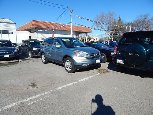 2011 HONDA CR-V EX-L - navi leather sunmoonroof 1 owner low miles luxury pkg R7989-060779