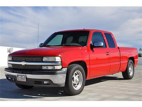 2001 CHEVROLET SILVERADO - One owner new tires new shocks 188940 4950 Candyland Motorsports