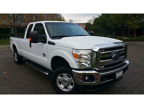 2012 FORD F250 SUPER DUTY XLT 4x4 - subercab 67l V8 diesel Power Stroke Turbocharger FX4 Hea