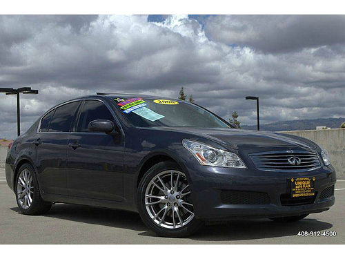 2008 INFINITI G35 - sedan sport Leather sun rfmn rf luxury pkg low miles 608-208616 12995