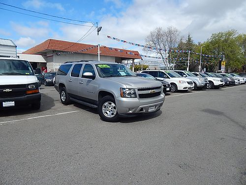 2009 CHEVY SUBURBAN 1500 LT 4x4 - lthr snmnroof luxury pkg 3rd row dvd low miles A7802-16135