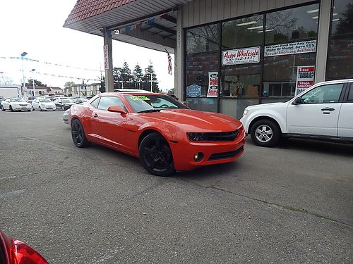 2011 CHEVY CAMARO LT w2LT - leather sunmoonroof spoiler prem wheels low miles A7968-170622